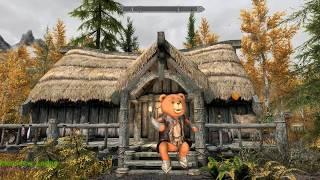 Horndew Lodge - Falskaar - Skyrim Special Edition House Mod