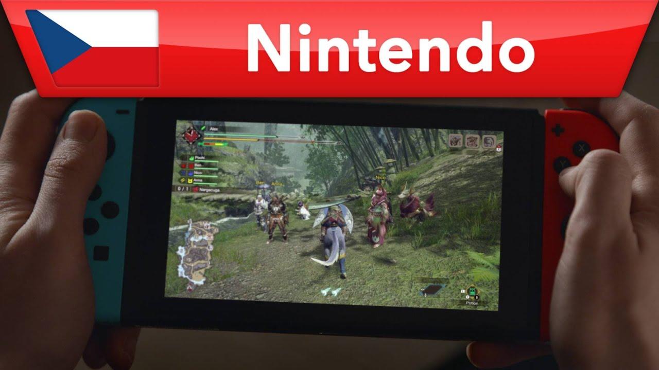 Monster Hunter Rise – český trailer | Nintendo Switch