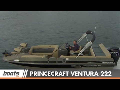 Princecraft Ventura 222 Boat Review / Performance Test
