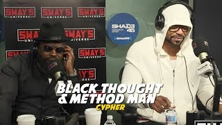 Method Man & Black Thought Cypher on Sway in The Morning | Sway's Universe