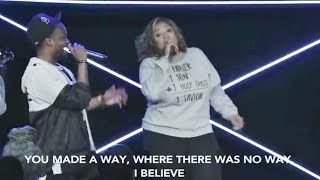Travis Green Kierra Sheard Sing Do It Again Into Praise Break