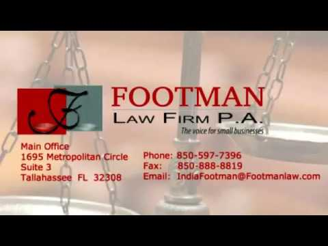 Tallahassee Bankruptcy Lawyer - Footman Law Firm