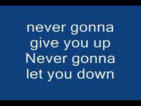 Download Rick Roll Song Lyrics Mp3 Mp4 Music Online Silent Mp3