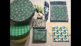 HOW TO - MAKE BEESWAX WRAPS - 4 WAYS TO DO IT! - STEP BY STEP TUTORIAL