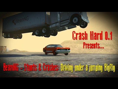 BeamNG - Stunts & Crashes: Driving under a jumping bigrig letöltés