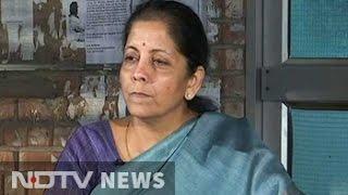 Watch: Minister Nirmala Sitharaman Took On A JNU Student - And Won