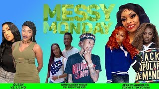 DRAMA ALERT! ! ! LilMo vs Queen Naija, JessHilarious vs Tokyo & MORE | MessyMonday