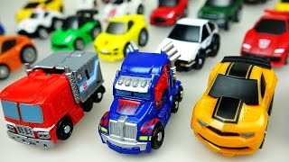 Transformers 41 Choro-Q and CarBot car toys