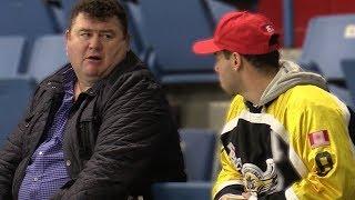 Chirping Hockey Dads Prank!