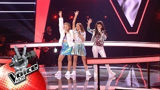 Helena, Axelle & Mary - 'Born This Way' | The Battles | The Voice Kids | VTM