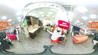 Мебельная фабрика Мебелевич -видео 360 градусов -крути видео, чтобы увидеть больше!