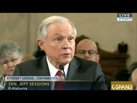 Jeff Sessions Attorney General Confirmation Hearing Part 1