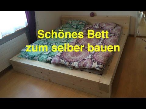 Ein Bett zum selber bauen - by LunchVegaz