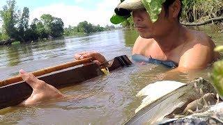 Lội Sông Bắn Cò | Stork Hunting | Đời Sống Dân Dã