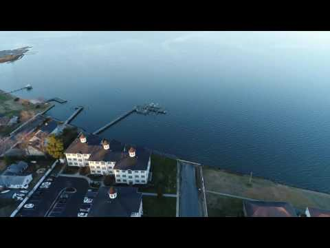 Aerial Flight Around The Choptank River In Cambridge Maryland Mp3
