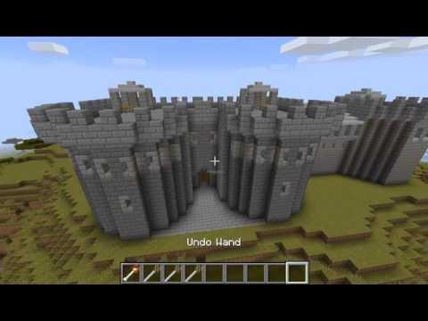 Minecraft RapidForm Mod - Castle Building