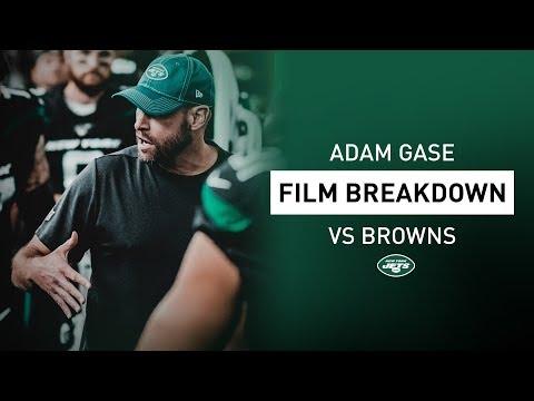 Inside the Film Room with Adam Gase: Luke Falk's NFL Debut   New York Jets   NFL