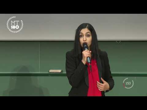 Ma thèse en 180 secondes 2017 : Halima Elazhar
