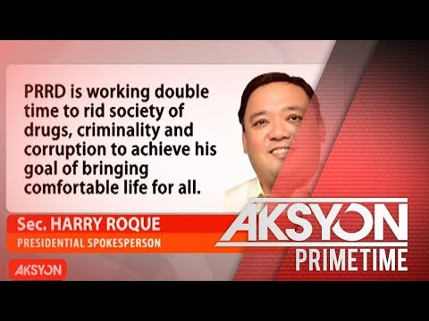 "[News5]  ""He is not leading the country for the sake of high ratings."" – Sec. Roque"