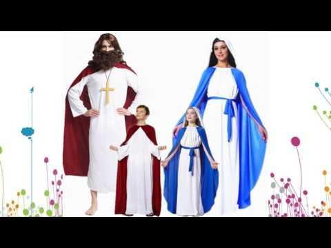 disfraces para niños jesus y maria para diciembre