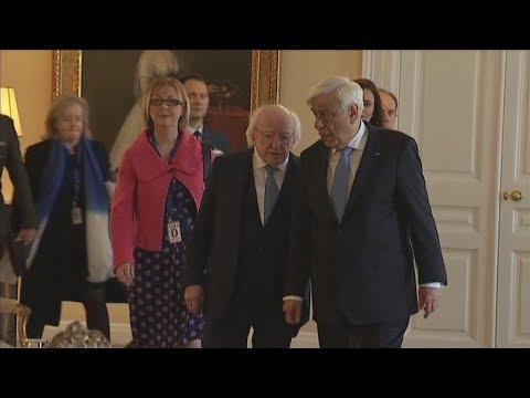 Επίσημη επίσκεψη του Προέδρου της Ιρλανδίας στην Ελλάδα