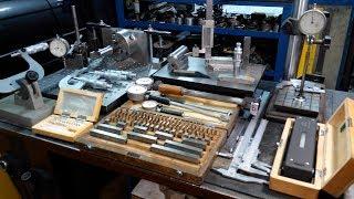 Выбор мерительного инструмента и технологической оснастки