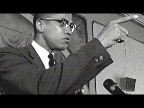 Malcolm X's Fiery Speech Addressing Police Brutality