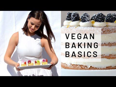 Vegan Baking Basics by Pastry Chef Andreja - YouTube