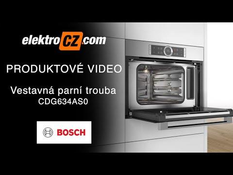 Vestavná parní trouba Bosch CDG634AS0 | Příslušenství | Funkce trouby