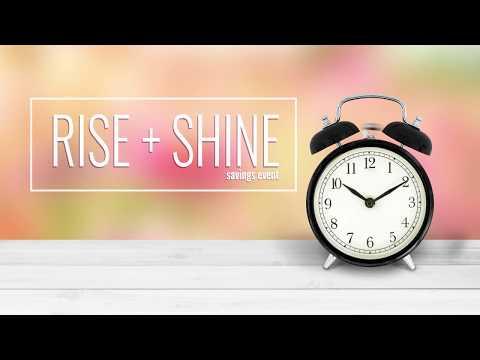 Rise & Shine Event