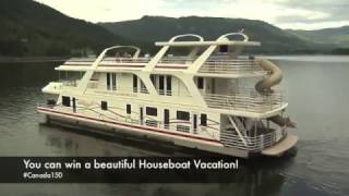 Contest: Win and incredible houseboat vacation