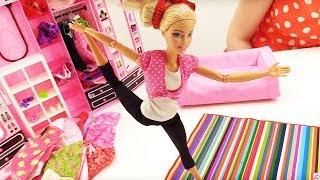 У Куклы Барби выходной - Видео для девочек