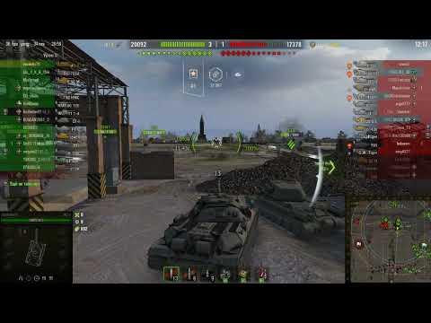world of tanks 2019 карта Студьзянки, бой ИС 7