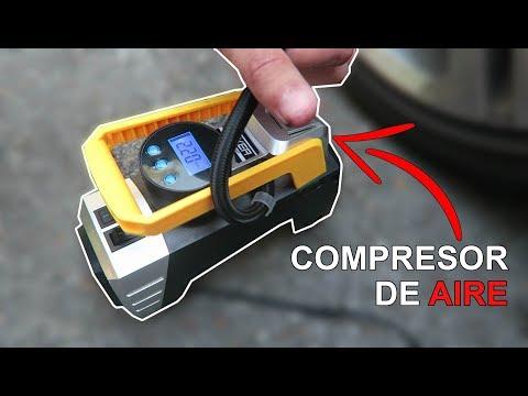 Pruebo un compresor de aire portátil para las ruedas del coche
