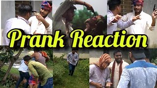 Prank reaction with desi people! The unknown tubers