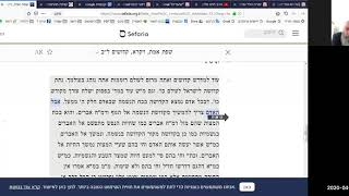 """פרשת קדושים על פי ה""""שפת אמת"""" (ג' באייר תש""""פ)"""