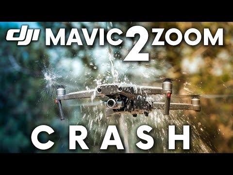 DJI Mavic 2 proberen te crashen: een taaie drone!