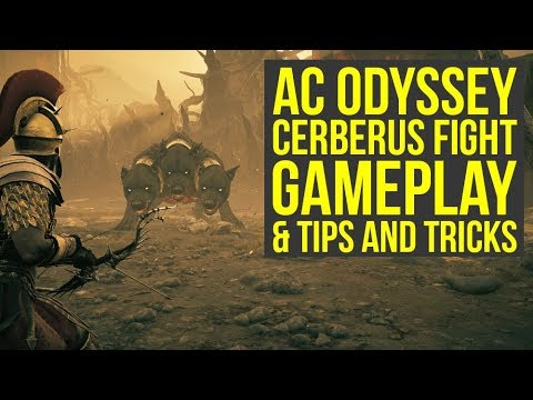 Assassin's Creed Odyssey Cerberus Gameplay ON NIGHTMARE & Tips And Tricks (AC Odyssey Cerberus)