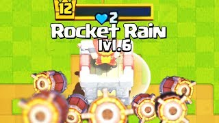 ROCKET RAIN!!! Clash Royale Funny Moments - Clash LOL Funny Montages, Glitches, Troll Monthly Review