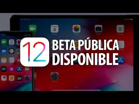 iOS 12 beta publica ¡YA DISPONIBLE!