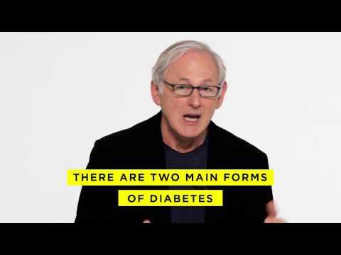 Eine Hütte gibt Diabetiker
