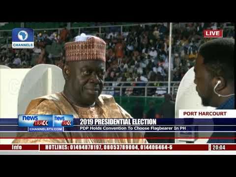 PDP Convention: We Must Produce A Unifier, We Are Ready To Assume Power-- Aliyu