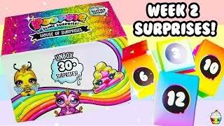 Poopsie House Of Surprises WEEK 2 Count Down To Glitter Friday!