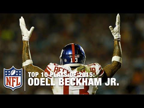 Top 10 Odell Beckham Jr. Highlights of 2015 | NFL
