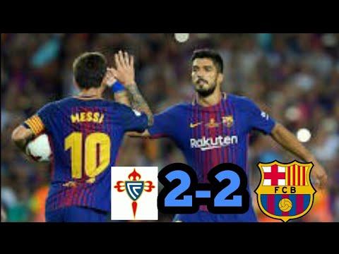 CELTA VIGO vs BARCELONA 2-2 Hasil Pertandingan Tadi Malam17-4-2018.