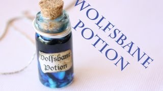 Wolfsbane : Harry Potter Potion Ep. # 6 : Bottle Charm Tutorial