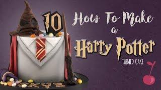 Harry Potter Cake Tutorial   How To   Cherry School