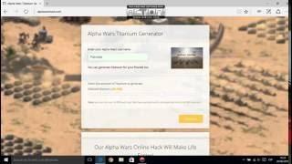 Alpha Wars Hack
