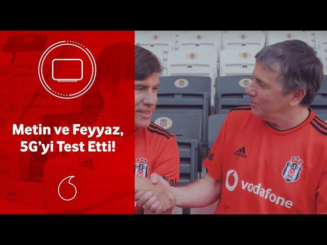 Efsanelerle Vodafone Supernet 5G'yi test ettik!