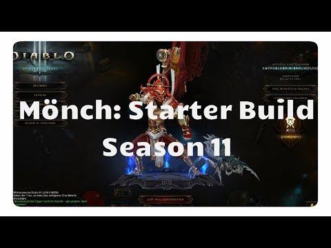 Diablo 3: Mönch Starter Build für Season 11